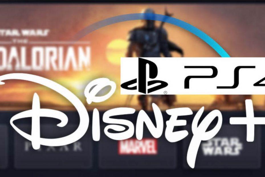 Disney+ sur PS4