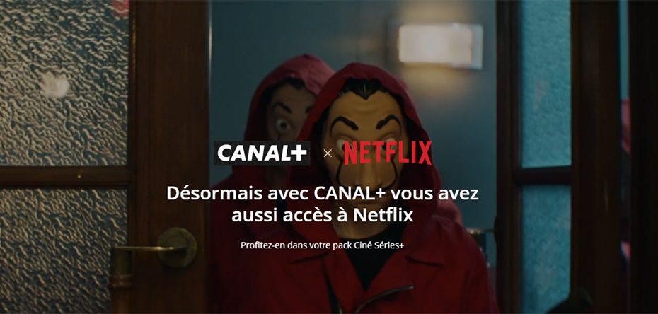 Canal+ avec Netflix