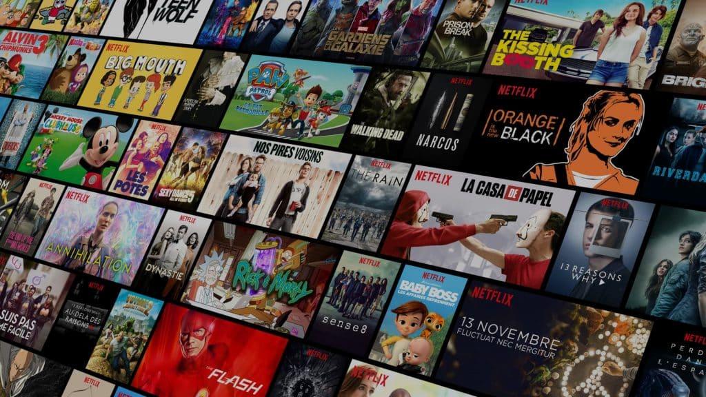 le catalogue impressionnant de Netflix
